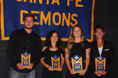 SFHS 2017 Athletic Banquet Honors Coach Graham and Athletes of the Year