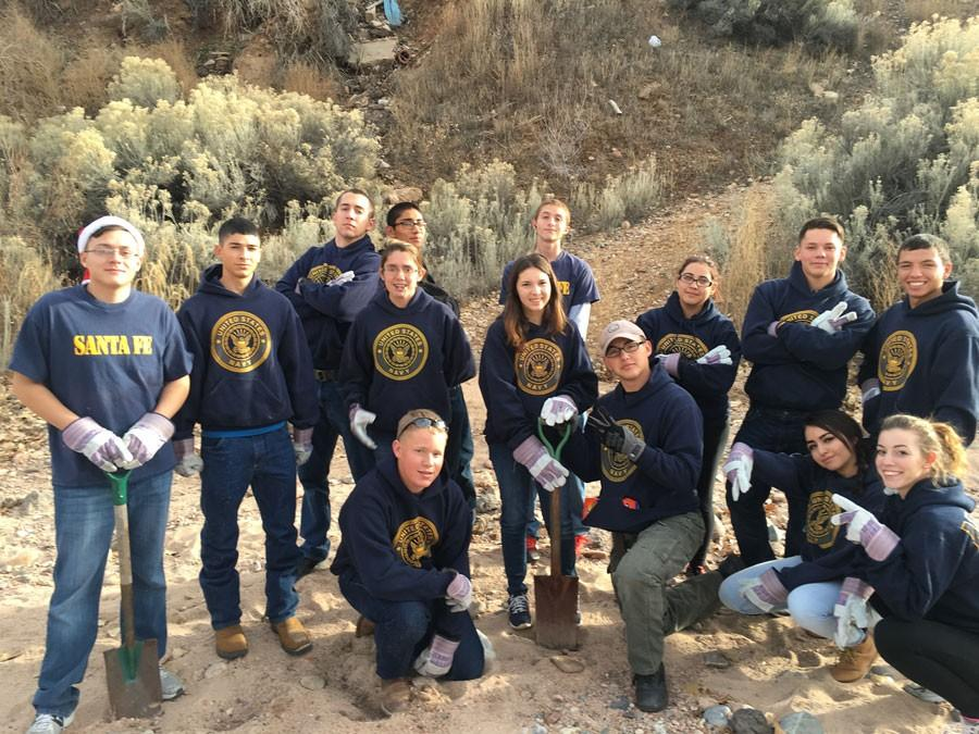 ROTC River Clean-up
