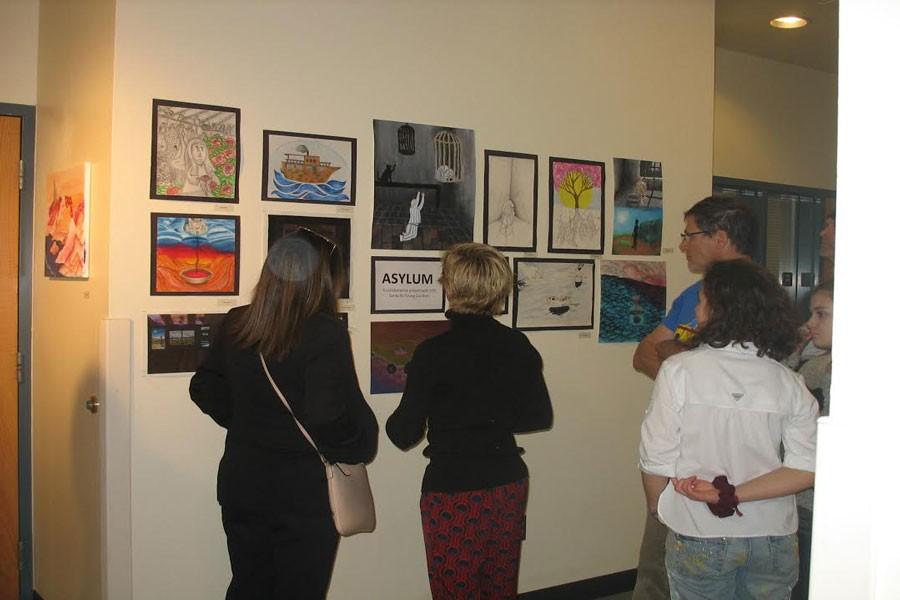 Santa Fe High Hosts Spring Art Show