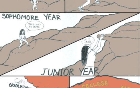 The Climb — A Comic by Kasandra Anaya