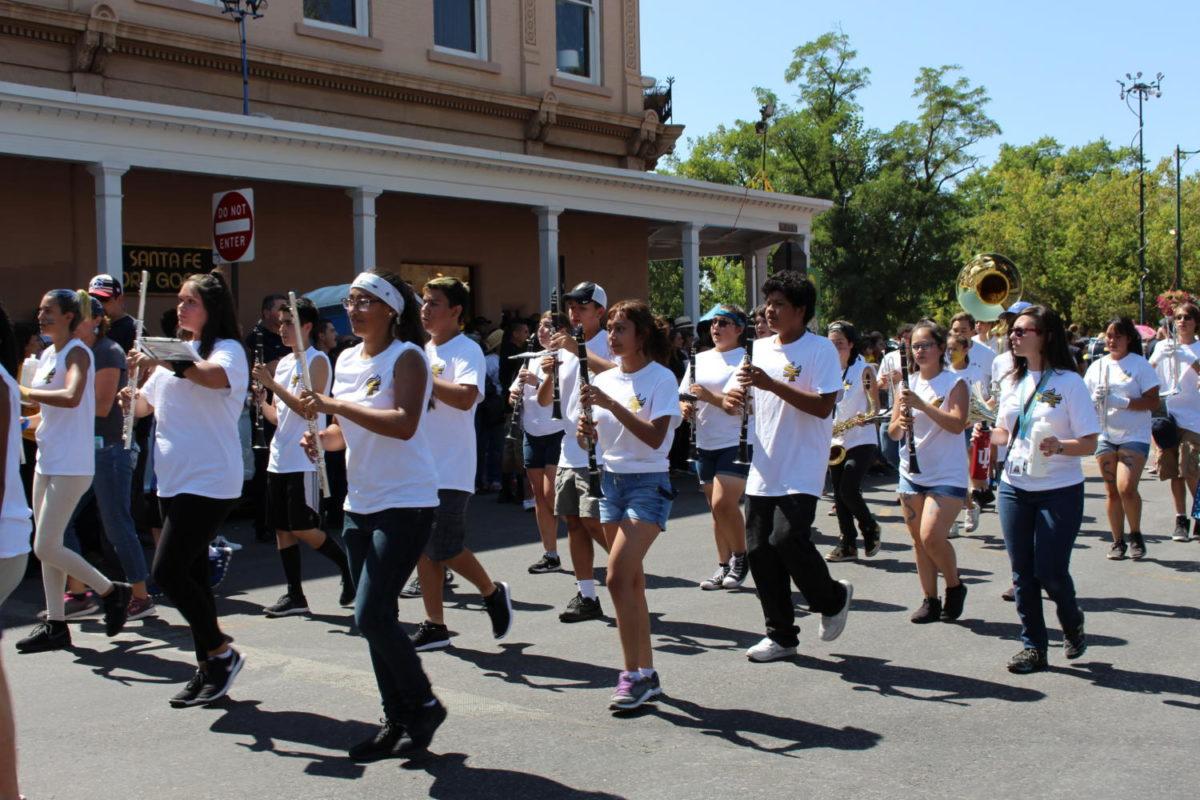 SFHS Contributes to Successful Fiesta