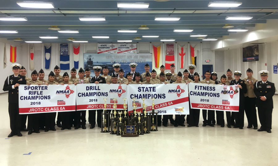 ROTC Wins State for a 3-peat!