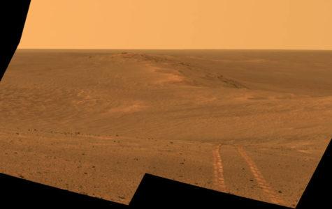 Mars Sandstorm, Saturn's Aurora, Pence Speaks