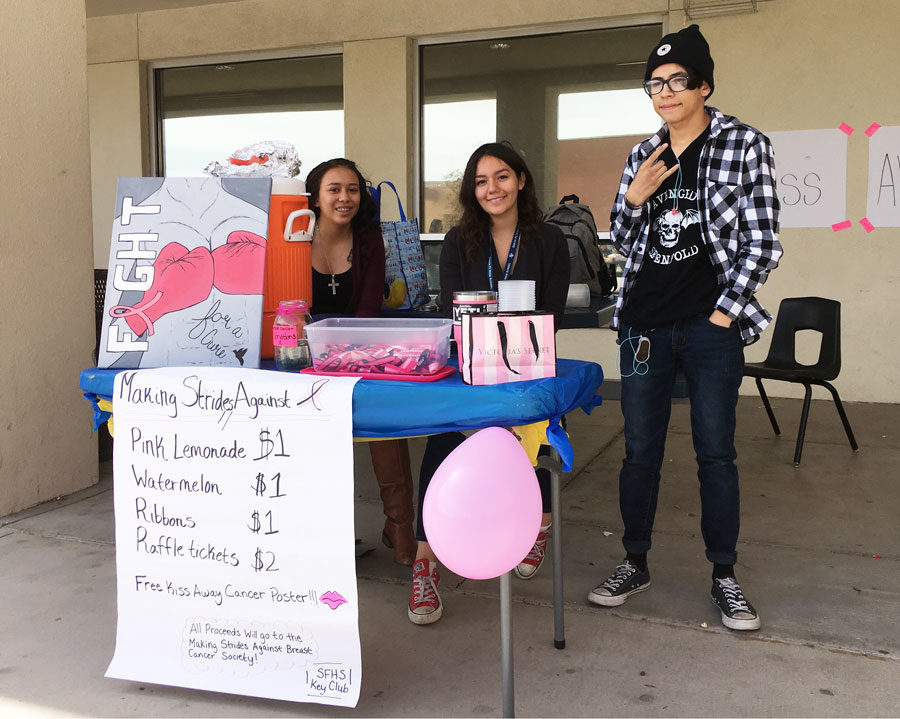 Key Club Helps People Across Town and Across the World