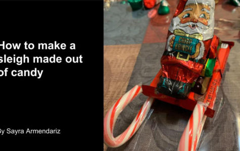 How to Make a Candy Sleigh