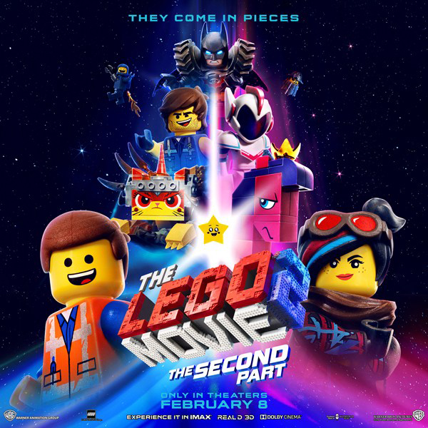 The Lego Movie 2: A Solid Second Part