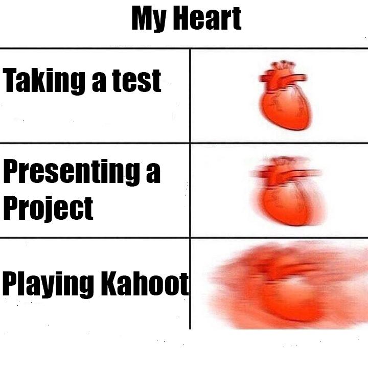 My Heart Rate in School