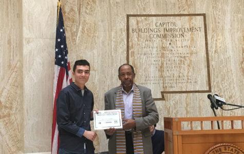 Jeremy Gonzales Wins MLK Award