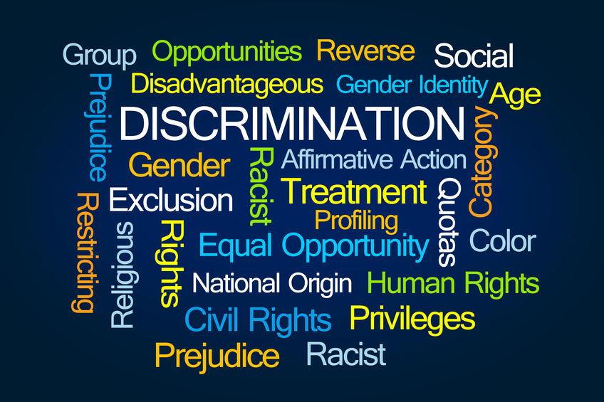 Discrimination+Word+Cloud+on+Blue+Background