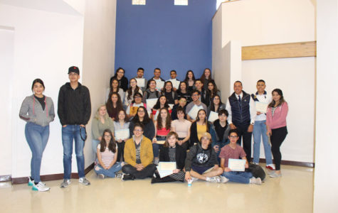 Congratulations, Sophomores, on Your Academic Excellence!