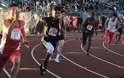Kevin Garcia: 200-Meter District Champ