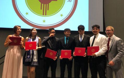 Six Davis Scholars from SFHS