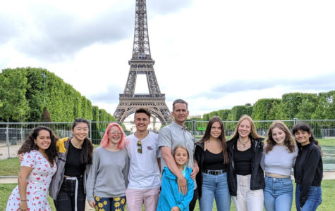 Mr. Caldwell and Students Tour Europe