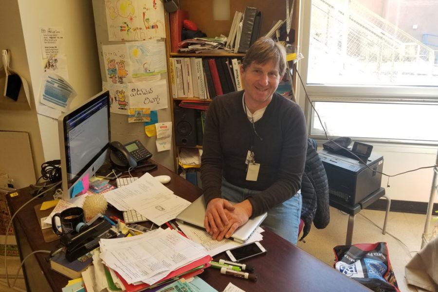 Mr. Pitman Wins Golden Apple Excellence in Teaching Award