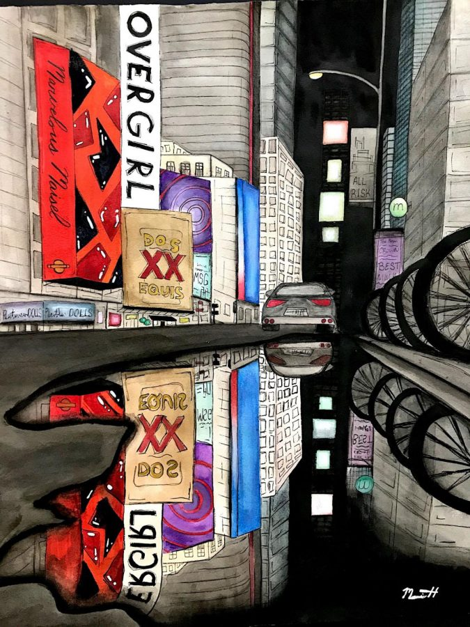 Scholastic Art Accepts Work by Mamie Hess