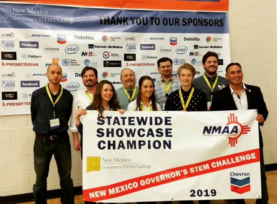 SFHS Students Win Governor's STEM Challenge