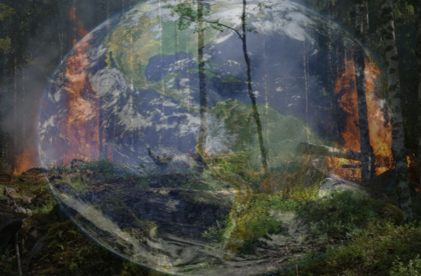 Forest Fires Contribute to Climate Change