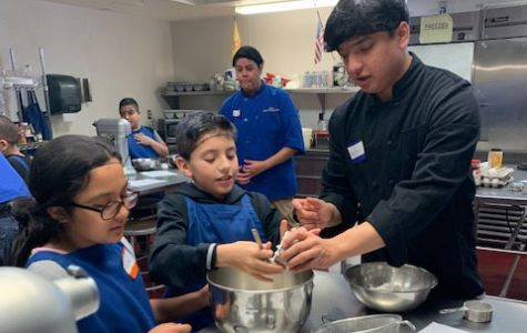Cookies in the Commons, with EJ Martinez Students